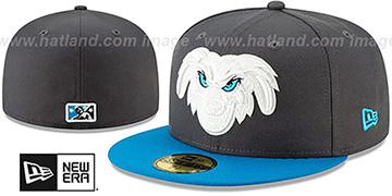 Storm COPA Charcoal-Blue Fitted Hat by New Era