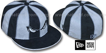 Storm 'SUEDE 12-PACK' Black-Grey Fitted Hat by New Era