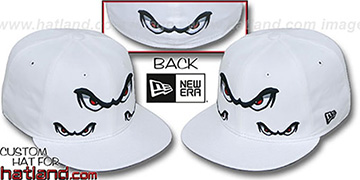 Storm 'TRIPLE THREAT' White Fitted Hat by New Era