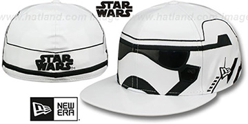 Storm Trooper - 2 CHARACTER FACE Fitted Hat by New Era