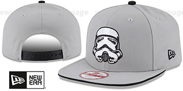 Storm Trooper 'HERO SANDWICH SNAPBACK' Black Hat by New Era