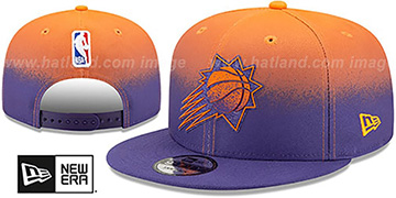 Suns 'BACK HALF FADE SNAPBACK' Hat by New Era