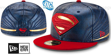 Superman 'CHARACTER ARMOR' Fitted Hat by New Era