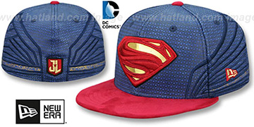 Superman CHARACTER JUSTICE LEAGUE Fitted Hat by New Era