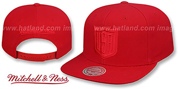 Team USA WORLD CUP HOCKEY SNAPBACK Red Hat by Mitchell and Ness