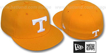 Tennessee 'NCAA-BASIC' Orange Fitted Hat by New Era