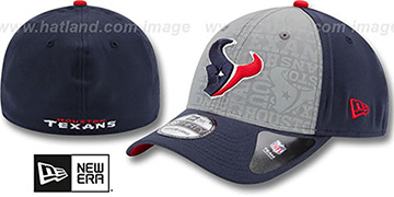 Texans 2014 NFL DRAFT FLEX Navy Hat by New Era