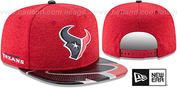 Texans 2017 NFL ONSTAGE SNAPBACK Hat by New Era