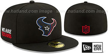 Texans '2020 NFL VIRTUAL DRAFT' Black Fitted Hat by New Era