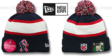 Texans BCA CRUCIAL CATCH Knit Beanie Hat by New Era