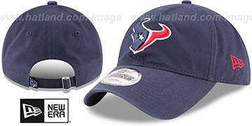 Texans CORE-CLASSIC STRAPBACK Navy Hat by New Era