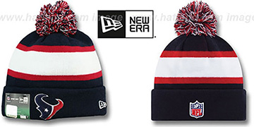 Texans STADIUM Knit Beanie Hat by New Era