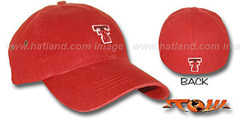 Texas Tech 'RUGGED' Fitted hat by Top Of The World