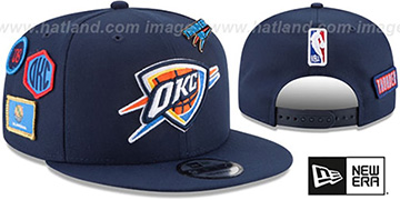 Thunder '2018 NBA DRAFT SNAPBACK' Navy Hat by New Era