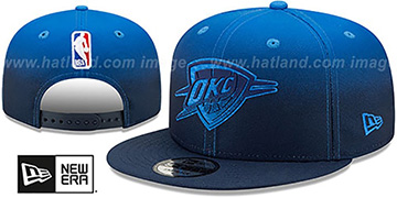 Thunder 'BACK HALF FADE SNAPBACK' Hat by New Era
