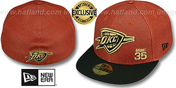 Thunder DURANT 'BASKET-BALLIN' Fitted Hat by New Era
