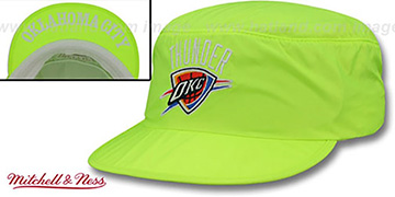 Thunder NEON PAINTER Yellow Hat by Mitchell and Ness
