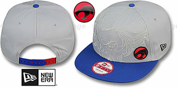 Thundercats 'OVERFACE SNAPBACK' Grey-Royal Hat by New Era