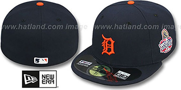 Tigers 2012 'WORLD SERIES ROAD' Fitted Hat by New Era