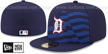 Tigers '2015 JULY 4TH STARS N STRIPES' Hat by New Era