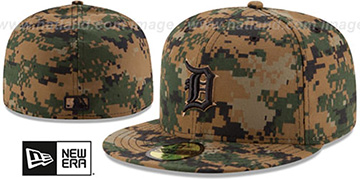 Tigers 2016 MEMORIAL DAY 'STARS N STRIPES' Hat by New Era