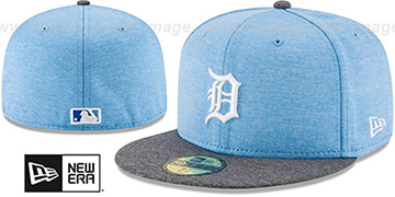 Tigers '2017 FATHERS DAY' Fitted Hat by New Era
