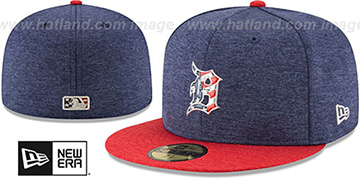 Tigers '2017 JULY 4TH STARS N STRIPES' Fitted Hat by New Era