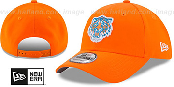 Tigers '2017 LITTLE-LEAGUE 940 SNAPBACK' Orange Hat by New Era