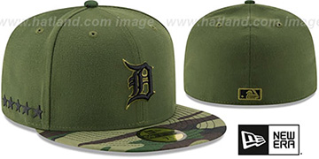 Tigers 2017 MEMORIAL DAY 'STARS N STRIPES' Hat by New Era