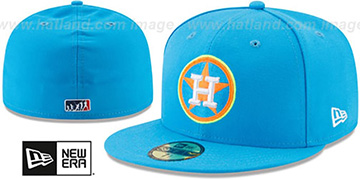 Astros '2017 MLB LITTLE-LEAGUE' Blue Fitted Hat by New Era