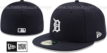 Tigers AC-ONFIELD HOME Hat by New Era