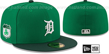 Tigers 2017 ST PATRICKS DAY Hat by New Era