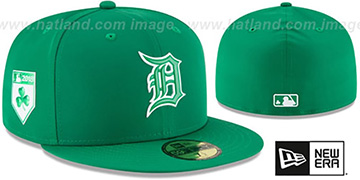 Tigers 2018 ST PATRICKS DAY Hat by New Era