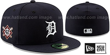 Tigers 'JACKIE ROBINSON' HOME Hat by New Era