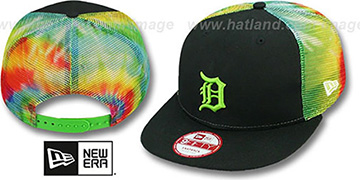 Tigers 'MESH TYE-DYE SNAPBACK' Hat by New Era