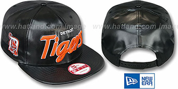 Tigers REDUX SNAPBACK Black Hat by New Era