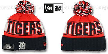 Tigers REP-UR-TEAM Knit Beanie Hat by New Era