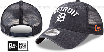 Tigers RUGGED-TEAM TRUCKER SNAPBACK Navy Hat by New Era