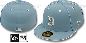 Tigers 'SKY BLUE DaBu' Fitted Hat by New Era
