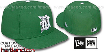 Tigers 'St Patricks Day' Fitted Hat by New Era