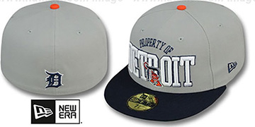 Tigers 'TEAM-PRIDE' Grey-Navy Fitted Hat by New Era