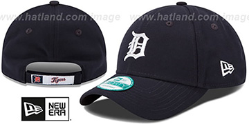 Tigers THE-LEAGUE HOME STRAPBACK Navy Hat by New Era