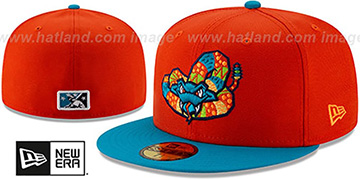 Timber Rattlers 'COPA' Orange-Blue Fitted Hat by New Era