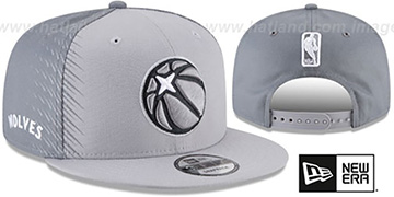 Timberwolves 'CITY-SERIES SNAPBACK' Grey-Grey Hat by New Era
