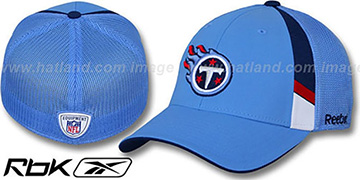 Titans '2009 DRAFT-DAY FLEX' Blue Hat by Reebok