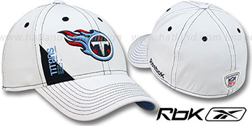 Titans 2010 DRAFT-DAY FLEX White Hat by Reebok