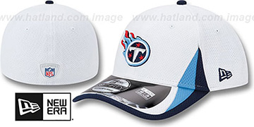 Titans 2013 NFL TRAINING FLEX White Hat by New Era