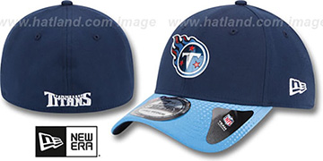 Titans 2015 NFL DRAFT FLEX Hat by New Era