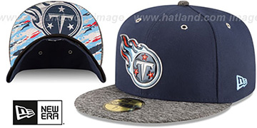 Titans 2016 NFL DRAFT Fitted Hat by New Era