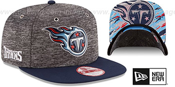 Titans '2016 NFL DRAFT SNAPBACK' Hat by New Era